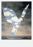 La Grande Famille Posters af Rene Magritte