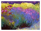 Flowerbed I Print by Gail Wells