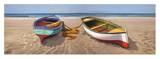 Barche sulla battigia Poster by Adriano Galasso