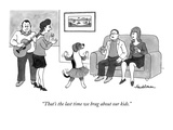 """That's the last time we brag about our kids."" - New Yorker Cartoon Premium Giclee Print by J.B. Handelsman"