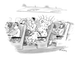 """""""I hate connecting through Roswell."""" - New Yorker Cartoon Premium Giclee Print by Mike Twohy"""