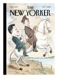 Driven - The New Yorker Cover, October 1, 2012 Regular Giclee Print by Barry Blitt