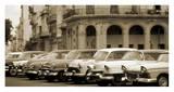 Automobiles, Cuba Affiches par Nik Wheeler