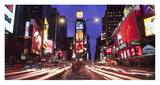 Times Square at night Prints by Paul Hardy