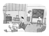"""""""You want to impress me? Drive to the store and get me more beer."""" - New Yorker Cartoon Premium Giclee Print by Peter C. Vey"""