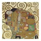 The Embrace (detail) Posters av Gustav Klimt