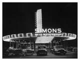 Simons Drive-In Restaurant Art