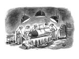 """Damn it, I'm a brain surgeon, not a rocket scientist!"" - New Yorker Cartoon Premium Giclee Print by Frank Cotham"