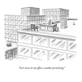 Captionless. Caption Contest CCTK. - New Yorker Cartoon Premium Giclee Print by Tom Cheney