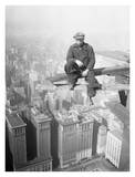 Worker on Skyscraper Beam, 1929 Art