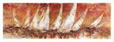 Regata al tramonto Prints by Luigi Florio