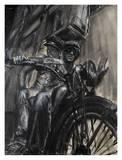 Cyclistes Posters par Paolo Ottone