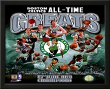 Boston Celtics All Time Greats Composite Framed Photographic Print