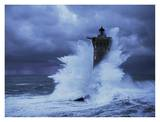 Phare du Four, Bretagne Prints by Jean Guichard