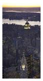 Aerial view of midtown Manhattan Prints by Cameron Davidson