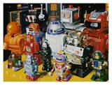 Robot Pals Prints by Don Jacot