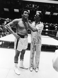 Muhammad Ali and Stevie Wonder, 1975 Photographic Print by Isaac Sutton