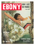 Ebony July 1966 Photographic Print by Bill Gillohm