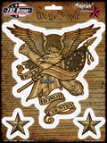 Duty Honor Country Sticker Stickers