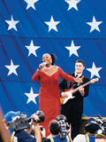 Patti Labelle, Super Bowl Xxxvi, New Orleans, La on February 3, 2002 Photographic Print by Vandell Cobb
