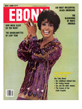 Ebony May 1980 Photographic Print by Moneta Sleet