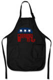 GOP &#39;Grand Old Party&#39; Logo Apron Apron