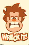 Wreck-It Ralph Movie Poster Print Posters