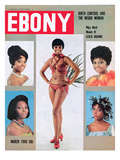 Ebony March 1968 Photographic Print by Moneta Sleet