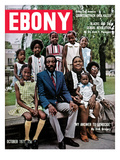 Ebony October 1971 Photographic Print by Hal Franklin