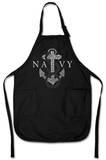 U.S. Navy - Anchors Aweigh Apron Schürze
