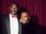 Doug Williams and Sugar Ray Leonard, 1988 Photographic Print by Frederick Watkins