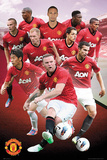 Manchester United Players 2012/2013 Affiches
