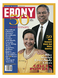 Ebony November 1995 Photographic Print by Moneta Sleet