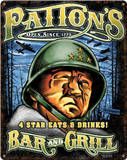 Patton's Bar & Grill Steel Sign Wall Sign
