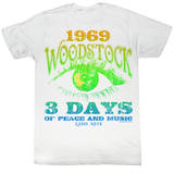 Woodstock - Radio Days - 3 Days T-shirts