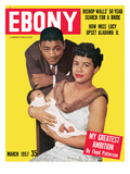 Ebony March 1957 Photographic Print by G. Marshall Wilson
