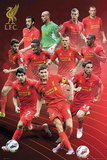 Liverpool FC Players 2012-13 Posters