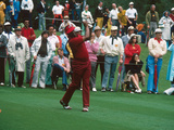 Professional Golfer Lee Elder,  Masters on April 13, 1975 Photographic Print by Moneta Sleet