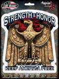 Strength & Honor Sticker Stickers