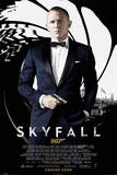 James Bond Skyfall - Credits Psters