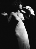Famed Vocalist Natalie Cole, Chicago's High Chaparral, September 1975 Photographic Print by Norman Hunter