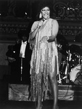 Singer Natalie Cole, Chicago Urban League, 1986 Photographic Print by Robert Johnson