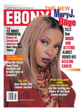 Ebony January 1998 Photographic Print by Vandell Cobb