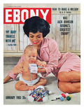 Ebony January 1963 Photographic Print by Moneta Sleet