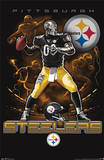 Pittsburgh Steelers Quarterback Mascot Plakater