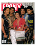 Ebony October 1981 Photographic Print by G. Marshall Wilson