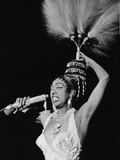 Josephine Baker, Chicago's Regal Theater, February 1960 Photographic Print by Isaac Sutton
