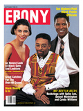 Ebony September 1990 Photographic Print by Moneta Sleet