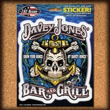 USN Davey Jones Bar & Grill Sticker Stickers