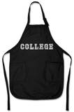 College Drinking Games Apron Forklæde
